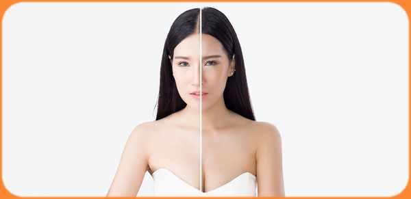 Blanchir sa peau rapidement et naturellement, fabriqué des masques et cremes blanchissante éclaircissement, visage mains et corps