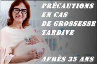 Précautions en cas de de grossesse tardive après 35 ans